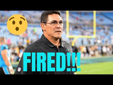 Ron Rivera FIRED By Carolina Panthers | Breaking NFL News