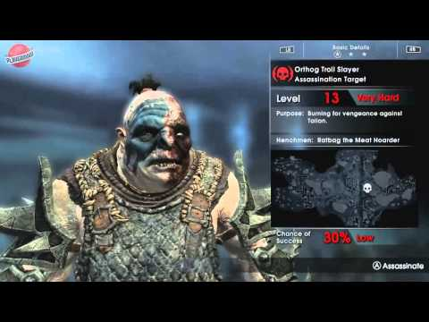 геймплей Middle-earth: Shadow of Mordor Game of the Year Edition