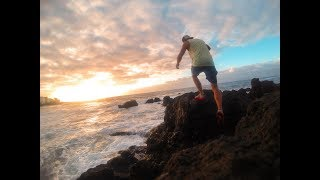 A quick tour of the Tenerife from first person view. Ocean surfing, black sand beach, volcano hiking. Go Pro Hero 3 Black Premier...
