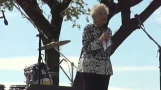 Dorli Rainey speaks eloquently at Occupy Hanford