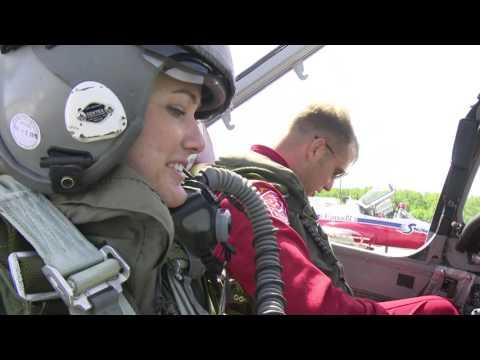 Snowbirds Flight with Heather Butts