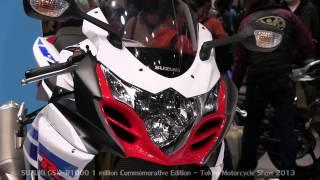 7. SUZUKI GSX-R1000 1 Million Commemorative Edition - Tokyo Motorcycle Show 2013