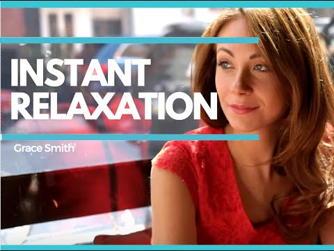 Hypnosis Video: Learn to Relax Instantly with this Quick Self-Hypnosis Process – GRACESMITHTV