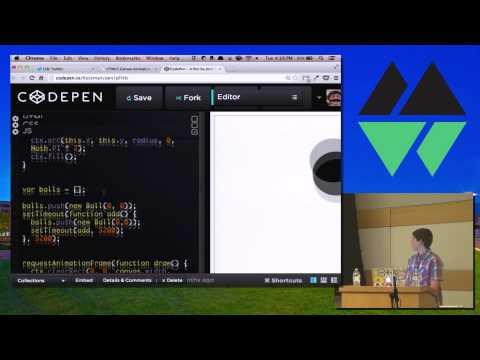 MountainWest JavaScript 2014 - HTML5 Canvas Animation with Javascript (видео)