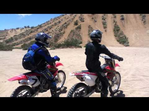 CR250r vs. CRF450r