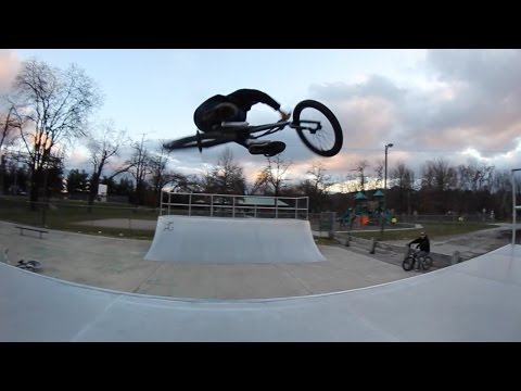 Chilly Day at Salem Skatepark