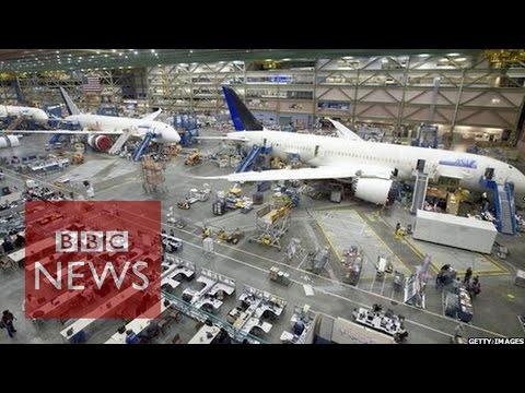 Boeing robots build jets