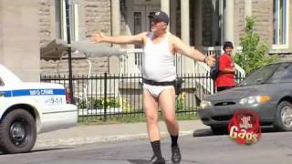 Just For Laughs - Gags - Police Officer Loses His Uniform