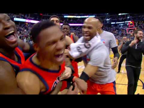 Russell Westbrook NBA RECORD 42ND TRIPLE DOUBLE Full Game Highlights | April 9, 2017 (видео)