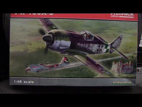 fw - Taking a look at a fine kit from Eduard, their FW-190A-9 Profitpack in 1/48th scale.