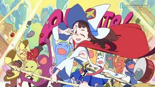 Little Witch Academia Enchanted Parade 2015 Movie Sub Indo