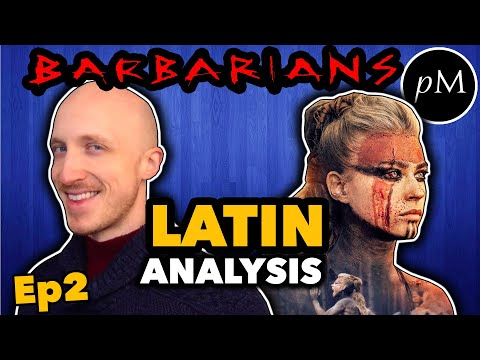 Netflix Barbarians THE LATIN in EPISODE 2 - How is the Latin? Latin Pronunciation Guide