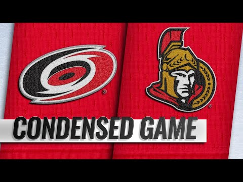 01/06/19 Condensed Game: Hurricanes @ Senators