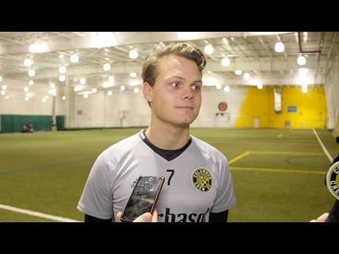 Video: Emil Larsen on His First Days with Crew SC