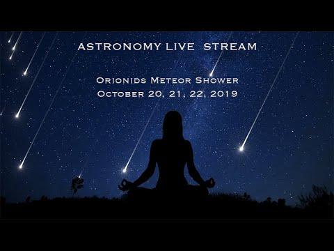 Pre-Orionids Meteor Shower in 4K