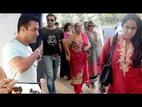 Spotted: Salman Khan Leaves Mumbai To Attend Siste