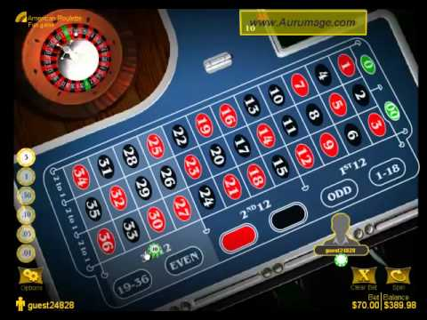 American roulette win in online casino