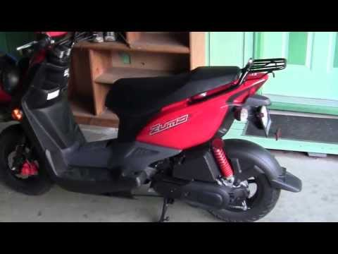 2013 YAMAHA ZUMA REVIEW