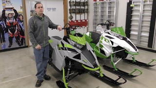 1. Country Cat - Comparison Between 2018 & 2017 Arctic Cat M 8000 Sno Pro