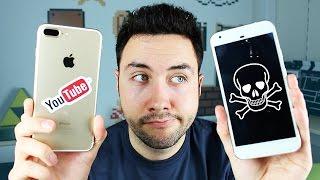 Video Mon Smartphone est Mort ! J'ai donc pris un iPhone 7 Plus MP3, 3GP, MP4, WEBM, AVI, FLV Oktober 2017
