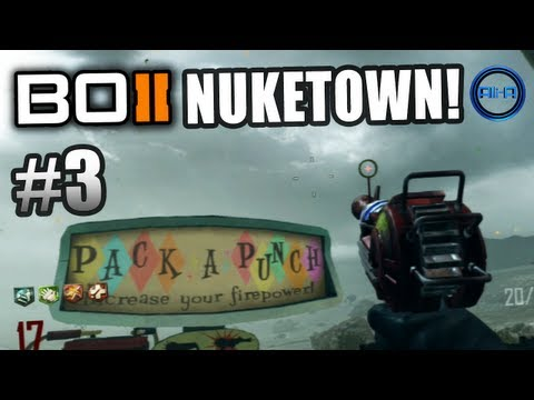 BLACK OPS 2 Nuketown Zombies! Ali-A LIVE Part 3! - Call of Duty: BO2 Nuketown Zombies Gameplay