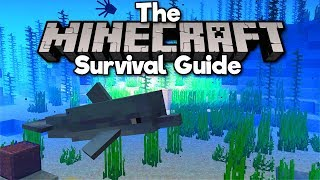 Catching Dolphins & Sunken Treasure! • The Minecraft Survival Guide (Tutorial Lets Play) [Part 199]