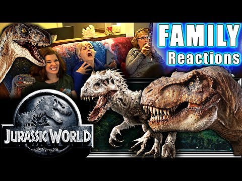 Jurassic World | FAMILY Reactions | Fair Use