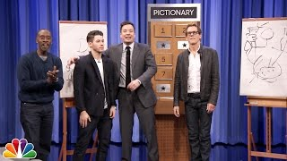 Video Pictionary with Kevin Bacon, Don Cheadle and Nick Jonas MP3, 3GP, MP4, WEBM, AVI, FLV Juli 2019