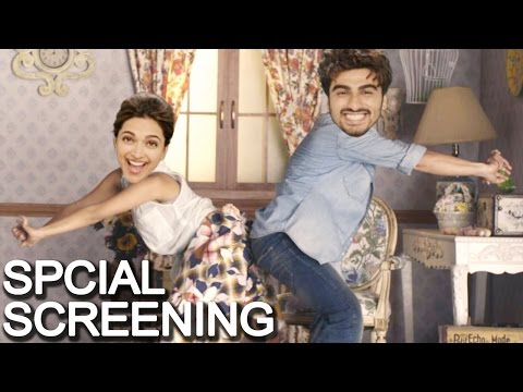 Finding Fanny Special Screening | Arjun Kapoor, De