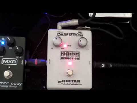 Guitar pedals from the  HEAVY METAL PERSPECTIVE: Rocktron Guitar Silencer.
