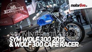 7. NEW 2015 | SALON INTERMOT | SYM WOLF 300 CR 2015