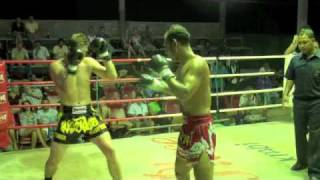 Matthew (Tiger Muay Thai) Scores A 3rd Round KO In Koh Lanta