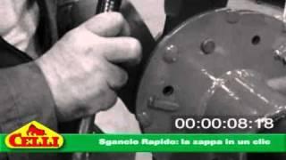 Celli Sgancio Rapido: la zappa in un clic