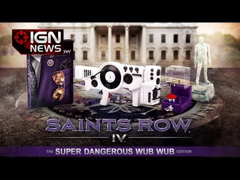 Saint - The Saints Row IV Collector's Edition comes with a 12 inch 'working' replica of the game's Dub Step gun. Subscribe to IGN's channel for reviews, news, and al...
