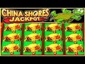 ★ SUPER BIG WIN JACKPOT HANDPAY ★ WHO LOVES TURTLES 🐢 CHINA SHORES STRIKES ★ HIGH LIMIT SLOT MACHINE