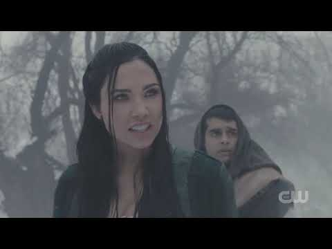 THE OUTPOST S2E1 JANZO HELPS TALON FIGHT IN SNOW WITH REBB