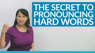 Learn the important pronunciation technique called BACKCHAINING, used by actors, singers, and public speakers to sound more natural and authentic in any language. Backchaining will retrain your ears to hear and your mouth to pronounce English words more easily and successfully. It is especially useful for those long,difficult English words, but it is also helpful with any word you are struggling with. Most English teachers do not have time to teach you this simple strategy, but you can apply it immediately after watching this lesson. Famous language courses are based on this powerful pronunciation technique; watch, listen, and solve your pronunciation problems today! https://www.engvid.com/speak-english-naturally-backchaining/TRANSCRIPTHi. I'm Rebecca from engVid. In this lesson you're going to learn a pronunciation secret that will help you to say English words more easily and correctly, especially long, difficult ones. Okay? Now, this is actually a professional technique that's used by actors, and singers, and linguists, and lots of people who have learned many different languages and want to or need to pronounce words correctly and authentically. Okay? Now, the reason why pronunciation is difficult for everyone when you're learning a new language is because when we grow up speaking our native language, we get used to... Our ears get used to hearing certain sounds, and our mouths get used to making certain sounds. And when we learn a new language, like English, then you have to train both your ear and your mouth to work a little bit differently. Okay? Now, the other part is because English is not phonetic, it's not completely phonetic. A large part of it is. Some people say about 80 to 85% is phonetic, but a lot of it is not phonetic. What does that mean? That means when we see a word, the way we say it is not the way it looks. Right? So, there's also that factor to take into account. But this technique can help you with both of these difficulties. Okay? So, first