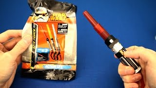 Kids Games Galore unboxes Disney Star Wars Lightsaber lite force toy with action lite.  Collect with 3.  Kids ages 3 and up.Music by Kevin MacLeod (Carefree)