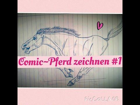 Pferd zeichnen #1 (Comicstyle)