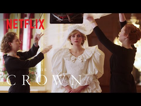 The Crown Season 4 | Costumes of The Crown | Netflix