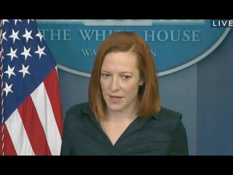 Biden's press secretary EMBARRASSES Trump during press briefing