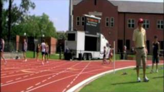 FSU Track Event with LED truck