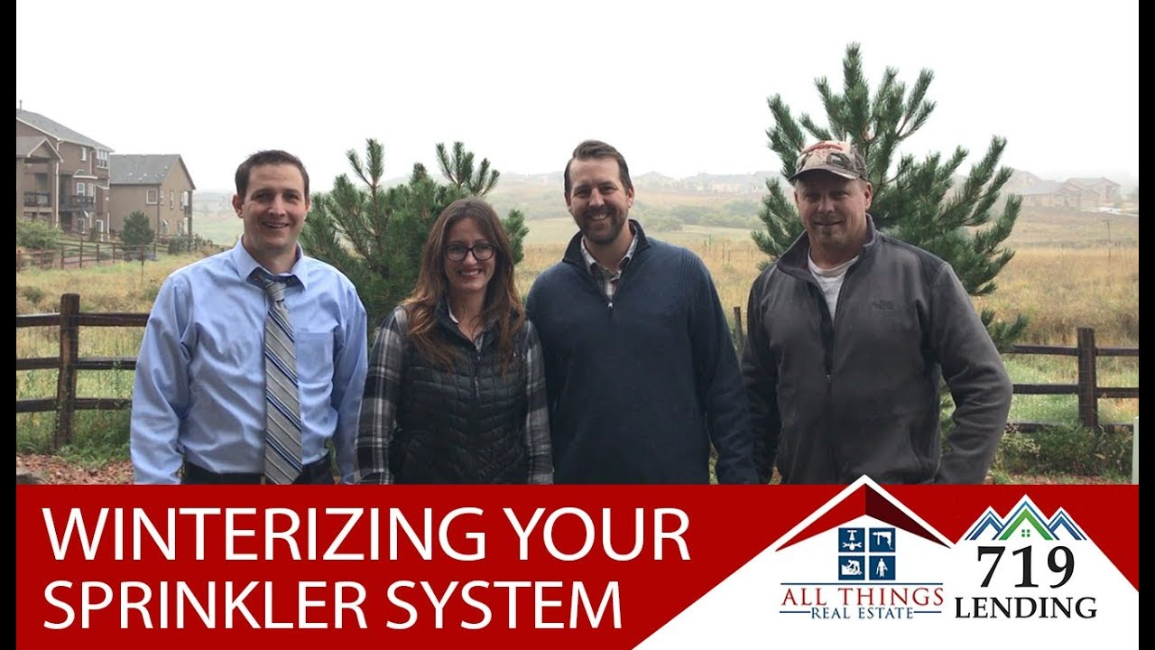 Winterizing Your Sprinkler System in 3 Easy Steps