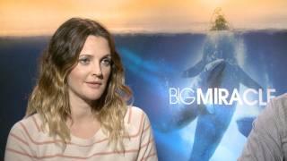 'Big Miracle' Drew Barrymore And John Krasinski Interview HD