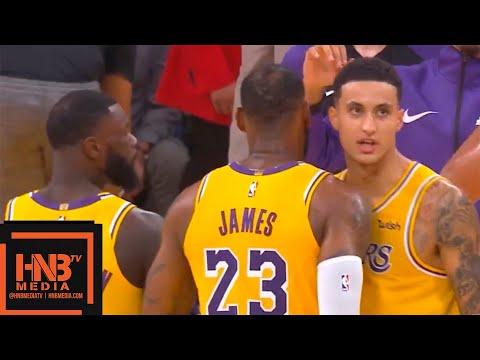 Los Angeles Lakers vs San Antonio Spurs 1st Half Highlights   10.22.2018, NBA Season