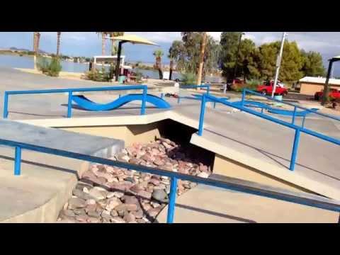 Lake havasu skatepark Arizona -Tinnell Memorial Sports Park
