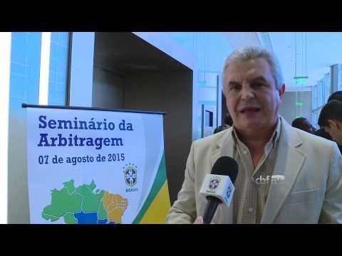M�rcio Rezende de Freitas fala sobre o plano de carreira dos �rbitros
