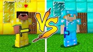 Video MINECRAFT - NOOB VS PRO: GOLD or DIAMOND HOUSE BATTLE in Minecraft MP3, 3GP, MP4, WEBM, AVI, FLV Mei 2019