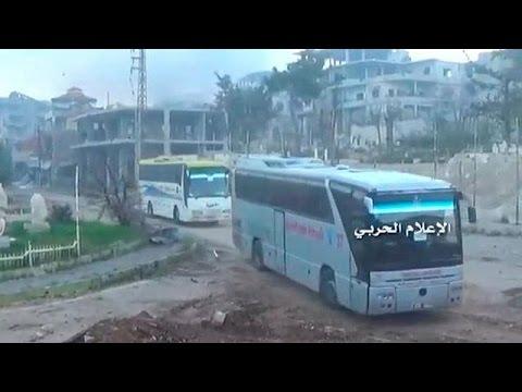 Εκκένωση τεσσάρων πολιορκημένων πόλεων της Συρίας