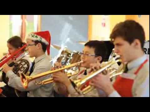 FSM Orchestra plays, 'It's the Most Wonderful Time of the Year'.